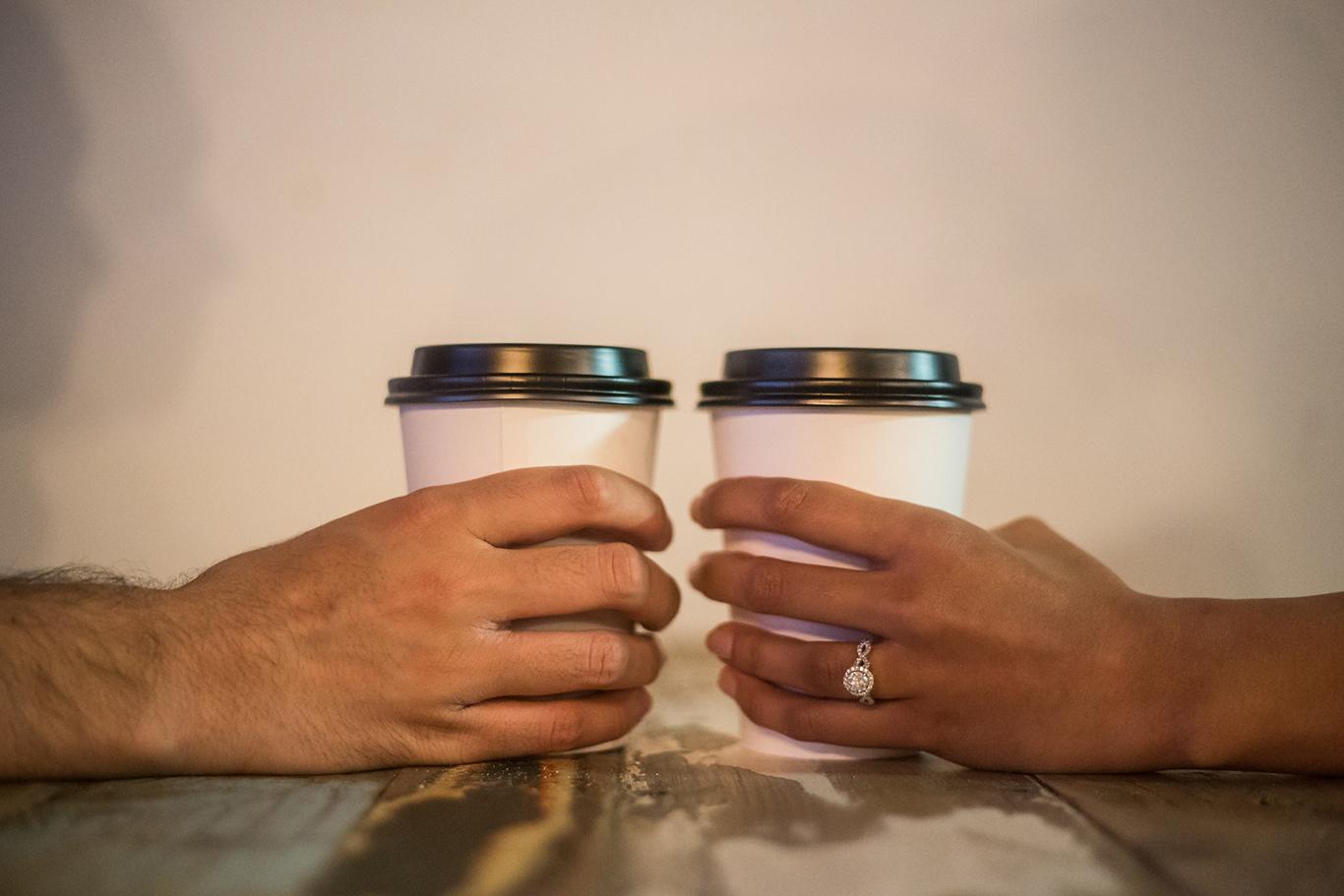 indian couple engagement photo shoot rgv