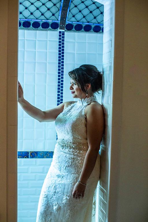 blue light creative bridal photo shoot rgv