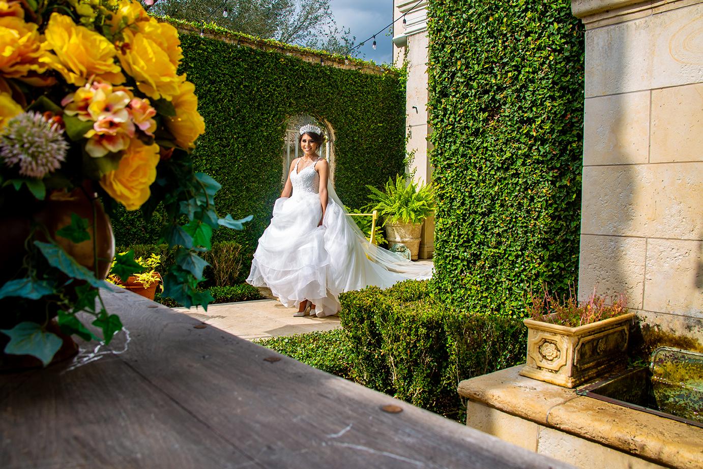 creative bridal photo rgv