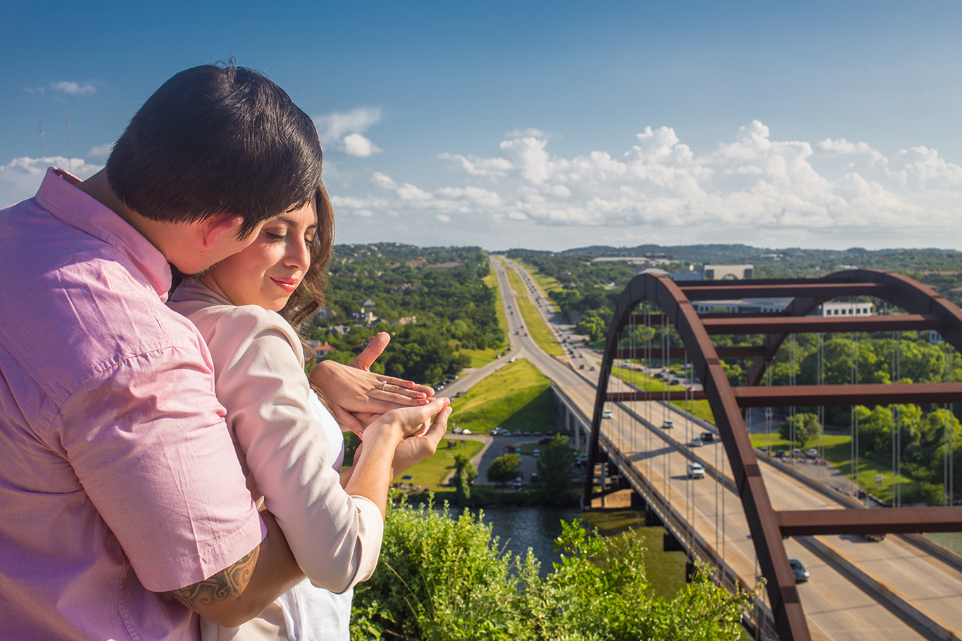 Pennybacker Bridge 360 bridge engagement