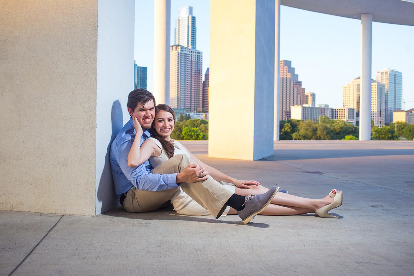 city of austin engagement photo