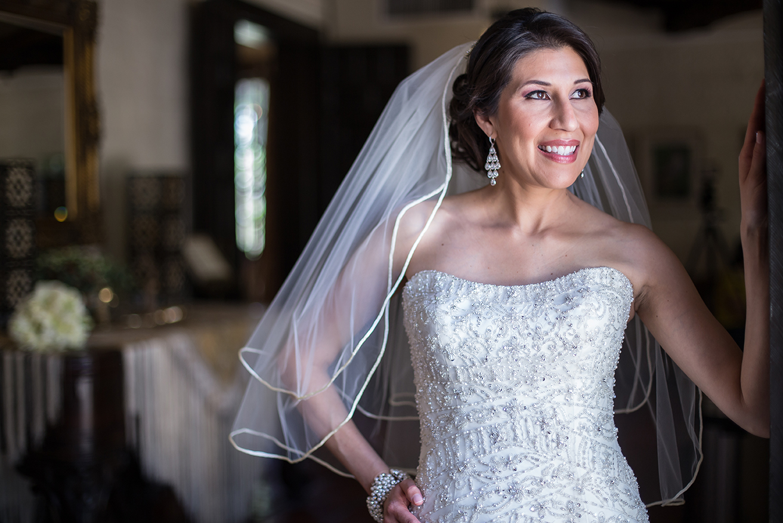 Bridal session at Quinta Mazatlan in McAllen, Texas.